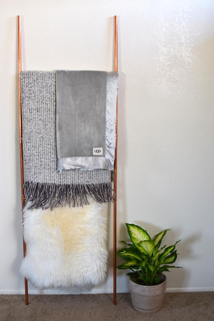 Copper Blanket Ladder