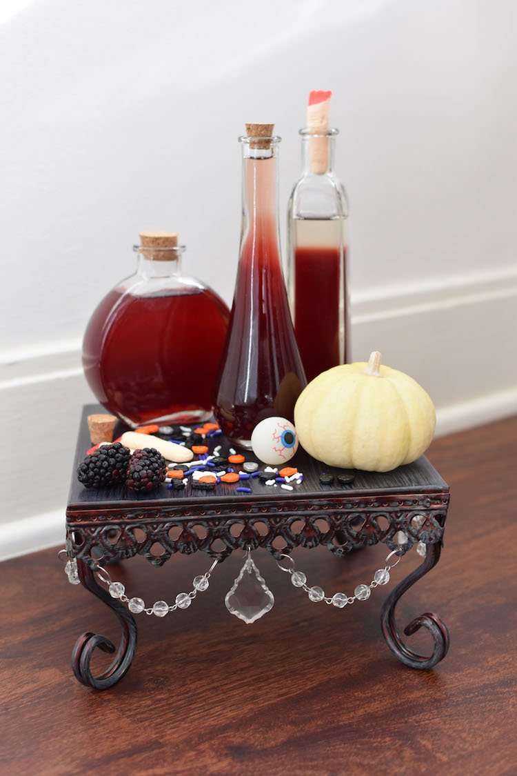 Bloody Blackberry Pomegranate Punch