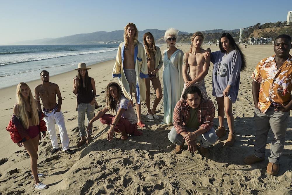 11 Californians wear UGG on Venice Beach