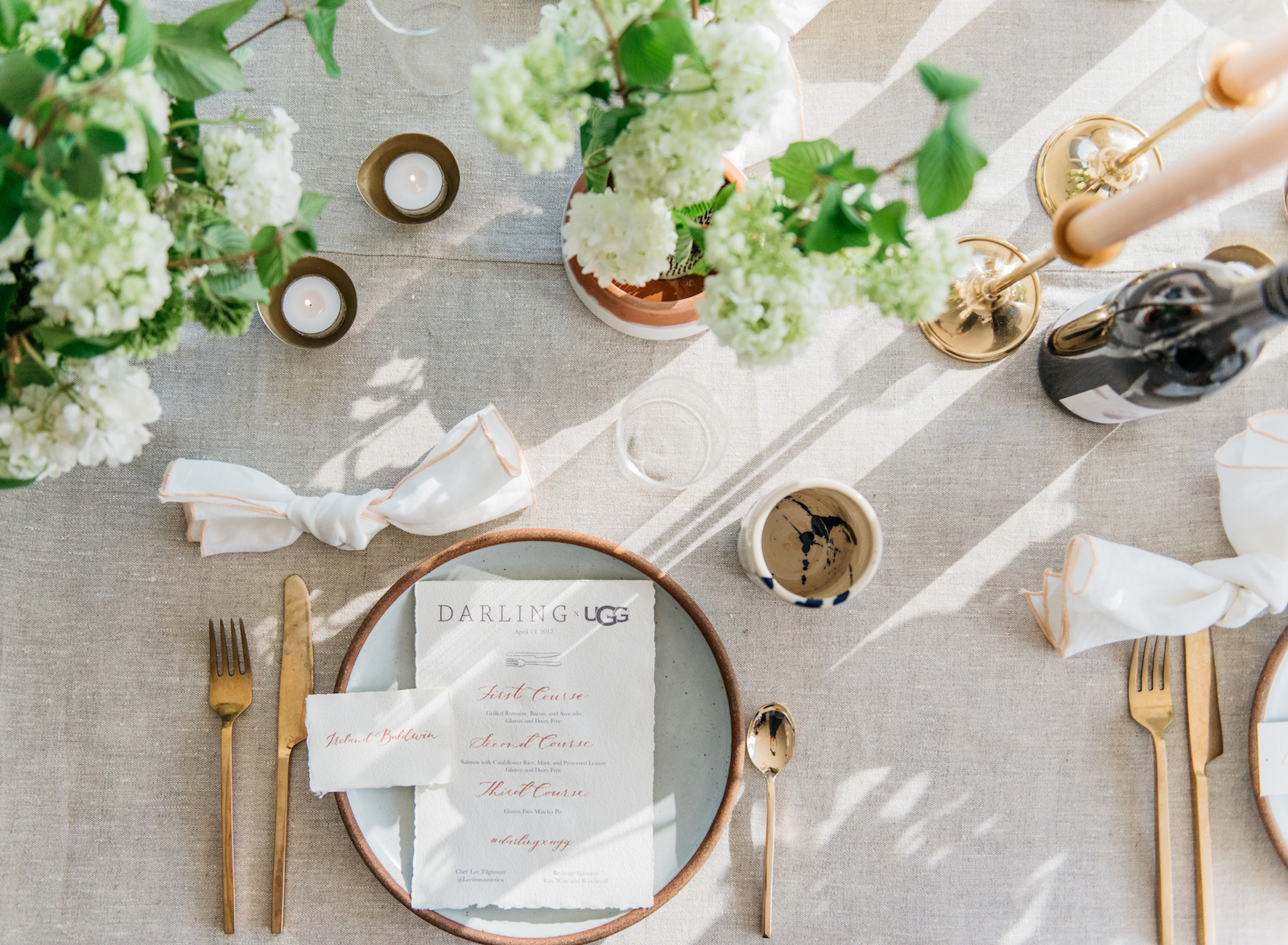 Be Our Guest: The Darling x UGG Dinner