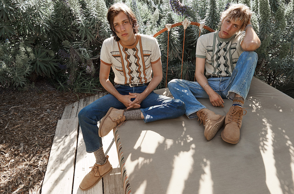 Wyatt and Fletcher both wear the UGG Neumel.