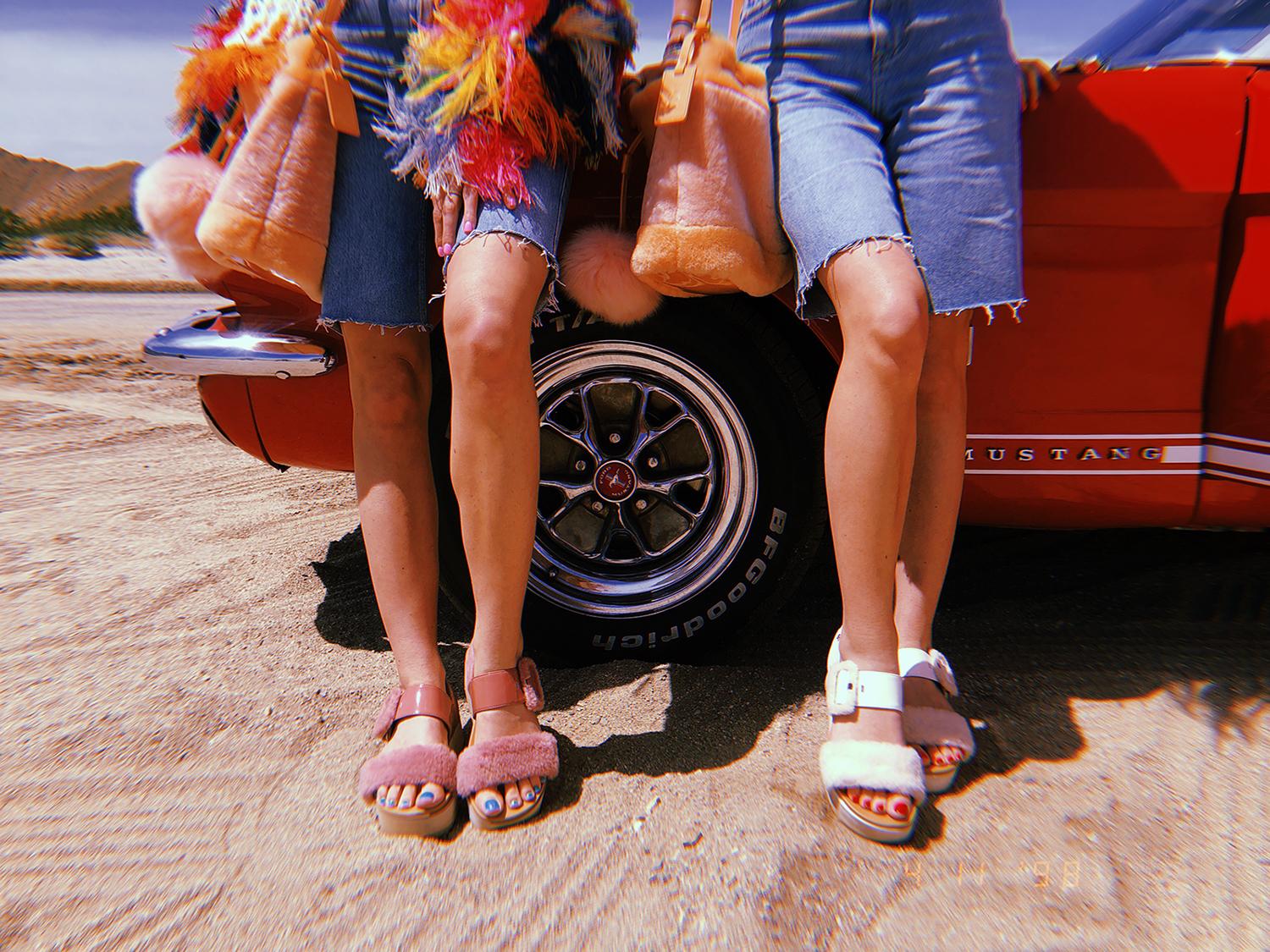 FESTIVAL BOUND WITH UGG + DESERT X
